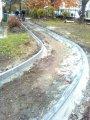 Oprava chodníku (podzim 2011)
